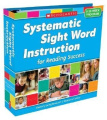 Systematic Sight Word Instruction for Reading Success: A 35-Week Program [With 237 Word Cards and 35 Teaching Transparencies]