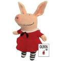 Olivia in Classic Red Dress 11