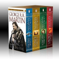 Game of Thrones by George R. R. Martin (4-book boxed set): Game of Thrones, Clash of Kings, Storm of Swords, Feast for Crows