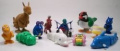12 Pc Assorted Wind Up Toys, Animals, Cars Etc