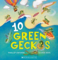 10 Green Geckos