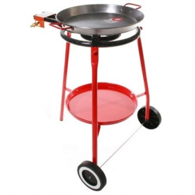 Legs and Tripod Grey cm Cofan Paella Pan 53 Steel Burner