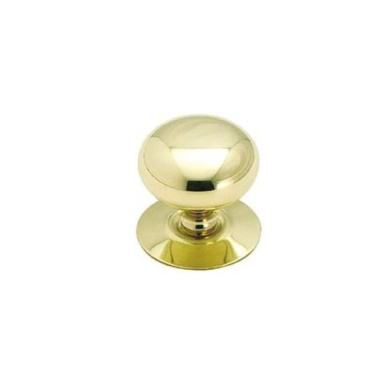 Amerock 544 1.5 In Knob With Backplate