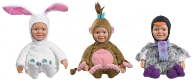 Baby Jake - Special Value 3 pack plush - Pengy Quin the ...