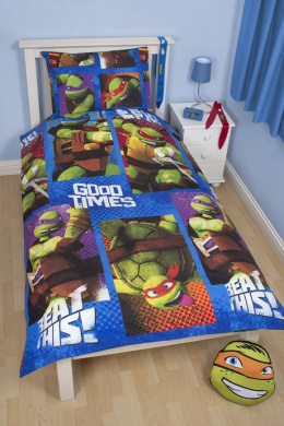 Teenage Mutant Ninja Turtles Dudes Single Reversible