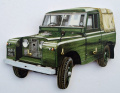 Land Rover Series 2 Key Rack - WT5S