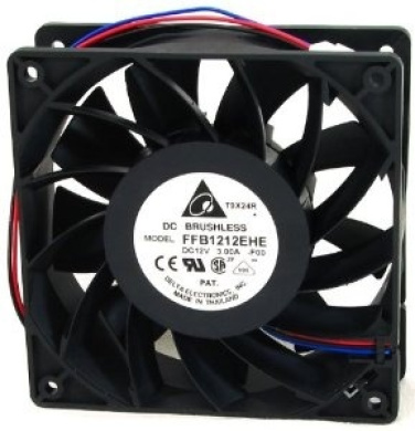 Compatible Part Numbers: 2415KL-04W-B86 AFB0612EHE 2850 Systems Dell H2401 W5451 Computer Case Cooling 12Volt~1.65Amp Fan and Shroud Assembly For PowerEdge 2800
