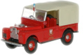 Land Rover 220cm Canvas - Somerset Fire Brigade from oxford diecst