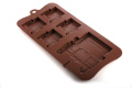 4 +1 Land Rover Lolly / Chocolate Bar Silicone Mould