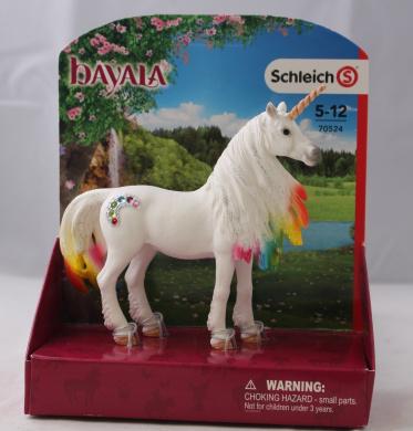 Schleich North America Rainbow Unicorn Mare Toy Figure