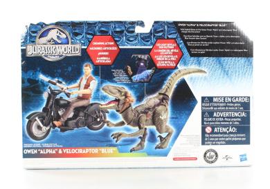 Jurassic Park Alpha Cycle /& Hybrid Raptor Pack