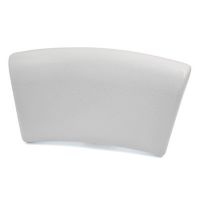 White Luxurious Foam Padded Spa Bath Pillow Hot Tub Neck Head Back Rest Cushion