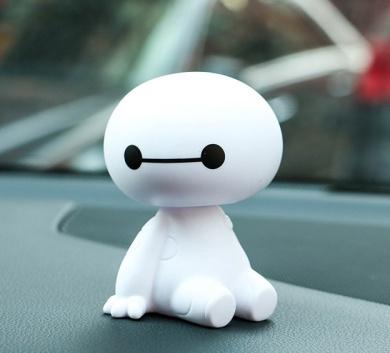 Pop Big Hero Baymax Cute Cartoon Bobblehead Doll Toy Car ...