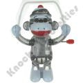 California Creations Sock Monkey Skippy Windup Toy