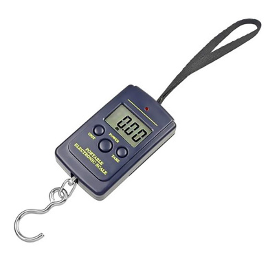 50kg//10g Electronic Hang Luggage Weight LCD Digital Hook Scale by Superjune