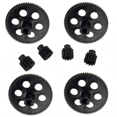Tuoservo RC Drone Main Shaft Gear 2-Type Teeth for Visuo XS809 XS809HW XS809HC RC Helicopter Parts 8pcs