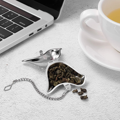 Stainless Steel Tea Ball Infuser Strainer Steeper for Loose Leaf Tea/& Herbal Teas Senbowe 2 Pack Stainless Steel Tea Infuser Tea Strainer Great Gift for Tea Lovers