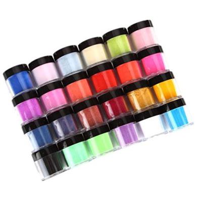 okbop dip powder nail kit starter acrylic powder 24pcs