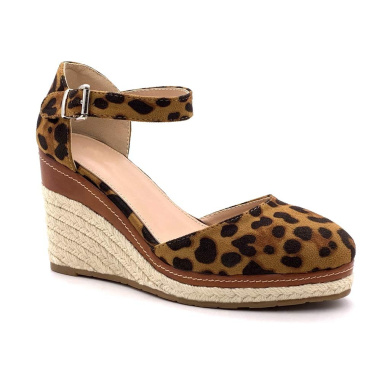 Angkorly Women's Fashion Shoes Sandals Espadrilles Ankle Strap Platform Cord Braided Thong Wedge Platform 9 cm