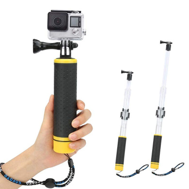 Vbestlife Camera Monopod,Portable Travel DSLR Monopod with 4 Sections for Camera Photograph Accessory. P264A+K26