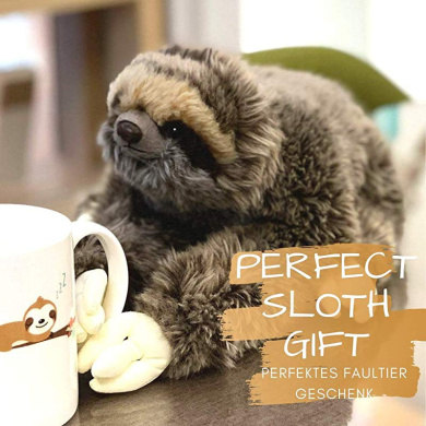 INNObeta Sloth Gifts Stuffed Animal Star Projector Night Light Three Toed Sloth Plush with Buttons as Gifts for Christmas /& Birthday