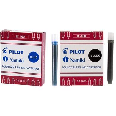 Sepia 6 Cartridges per Pack... Pilot Namiki IC50 Fountain Pen Ink Cartridge