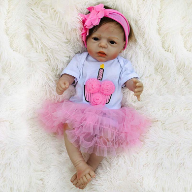 Terabithia 60cm Real Life Reborn Baby Doll Soft Silicone ...