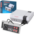 Retro Mini Video Games - Console Built-in 620 Classic Games Dual Gamepad Gaming is A Choice for Children and Adults (Grey) AV Output